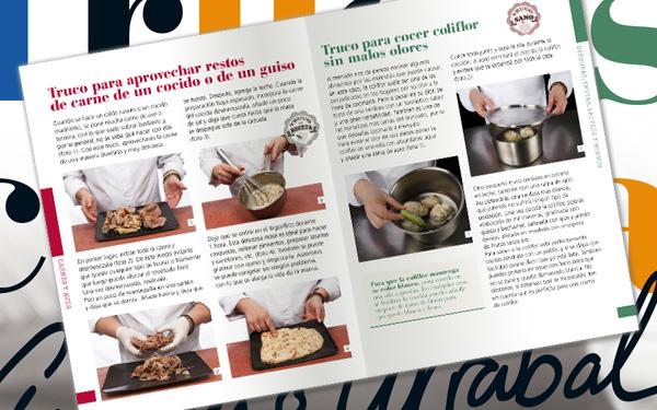 Páginas Libro de Cocina Trucos con Antonio Arrabal